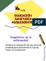 Educació sanitària per a adolescents