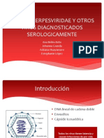 Familia Herpesviridae y Otros Virus Diagnosticados Serologicamente
