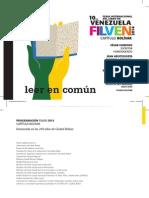 Programación FILVEN Bolívar