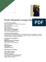 Paola Lozano 2014
