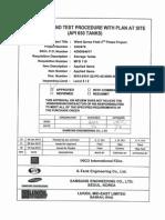 650 Rev.02 ITP With Plan at Site (API 650 Tanks)