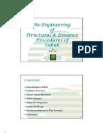 Re Engineering Structural Procedures