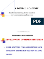Mixed Dent / orthodontic courses by Indian dental academy