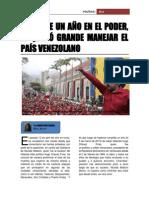 ensayo crisis venezuela