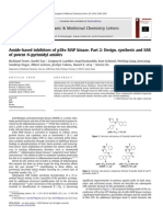 Amide Based Inhibitors of p38α MAP Kinase. Part 2 Design, Synthesis and SAR of Potent N Pyrimidyl Amides 2010 Bioorganic & Medicinal Chemis