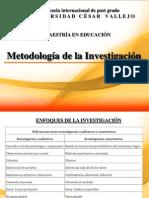 Metodología de La Investigación Enfoque Cualitativo Cuantitativo