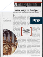 A New Way of Local Govt Budgeting - PBB