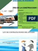 Ley de Contrataciones (Miercoles)
