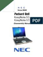PacardBell Easynote m5 m7 Versa m400