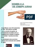 Aportaciones Joseph Juran