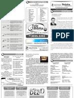 Boletim Informativo - 15 de novembro de 2009