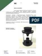 Dry Flow Funnel