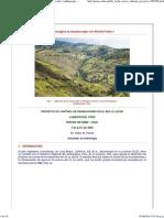 Projecto de Control de Inundaciones en El Rio La Leche, Lambayeque, Peru, Tercer Informe, Victor Miguel Ponce