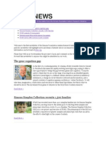 SFARI News - November 2009