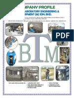 Btm Soil Laboratory Profile