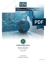 Survey Internet Things