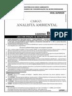 Cespe 2009 Icmbio Analista Ambiental Prova