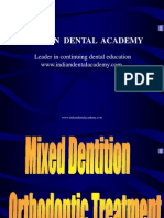 Mixed Dentition Ortho Treatment / orthodontic courses by Indian dental academy