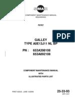 ATR-42 Galley Manual for the aircraft BHN,BHO,BHP.