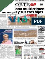 Periódico Norte edición impresa del día 20 de mayo del 2014