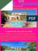 Modèle Économique de Location de Villas de Vacances en Espagne