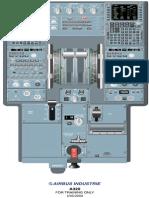 A-320 Center Panel description