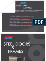TANDA HongKong Fire Door Brochure