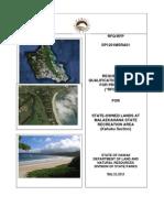 Malaekahana RFP/RFQ Document