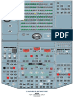 A-320 Over head  panel