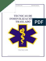 Tecnicas de Movilizacion e Inmovilizacion de Paciente