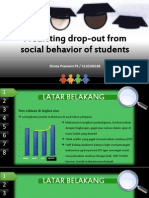 Predicting Drop-out From Social Behavior of Students - 5110100186