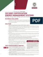 Service Sheet ISO50001