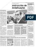 Anuncian construcción de hospital en Andahuaylas