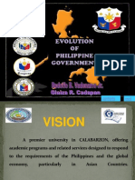 Philippine History & Government Ppt