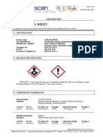 MSDS Chloroform