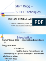 Modern Begg – / orthodontic courses by Indian dental academy