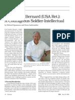 Col. Carl F. Bernard (USA Ret.): A Courageous Soldier-Intellectual