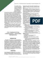 795 Pharmaceutical Compounding-Nonsterile Prep USP 36