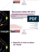 Barometre Defis Rh 2014 Actualite