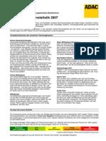 Adac Statistics 2007