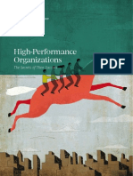 High performance organizations
