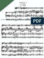 Flute Sonata No 4 in A