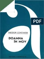 13. Theodor Constantin - Doamna in Mov