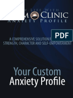 Anxiety Custom Report