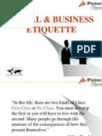 Social & Business Etiq