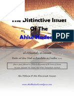 The Distinctive Issues of the Ahlul Hadeeth
