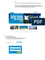 Introduction to Musafir Business Portal