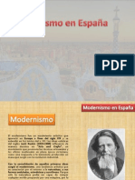 Modernismo en España (Scribd)