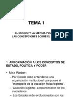 TEORIA DEL ESTADO- Teorias de Formacion