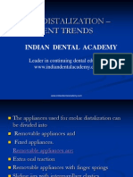 Molar Distalisation Current Trends / orthodontic courses by Indian dental academy